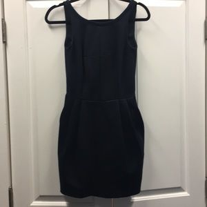 Sleeveless Navy Club Monaco Dress
